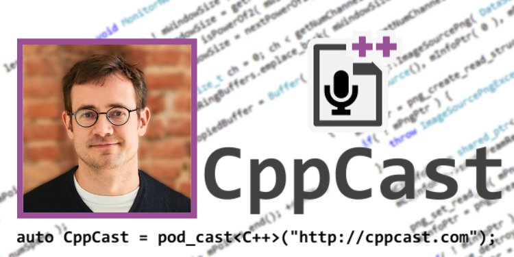 Arno Schödl being interviewed by CppCast