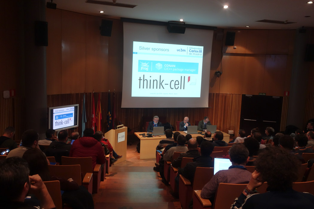 think-cell is one of the event sponsors