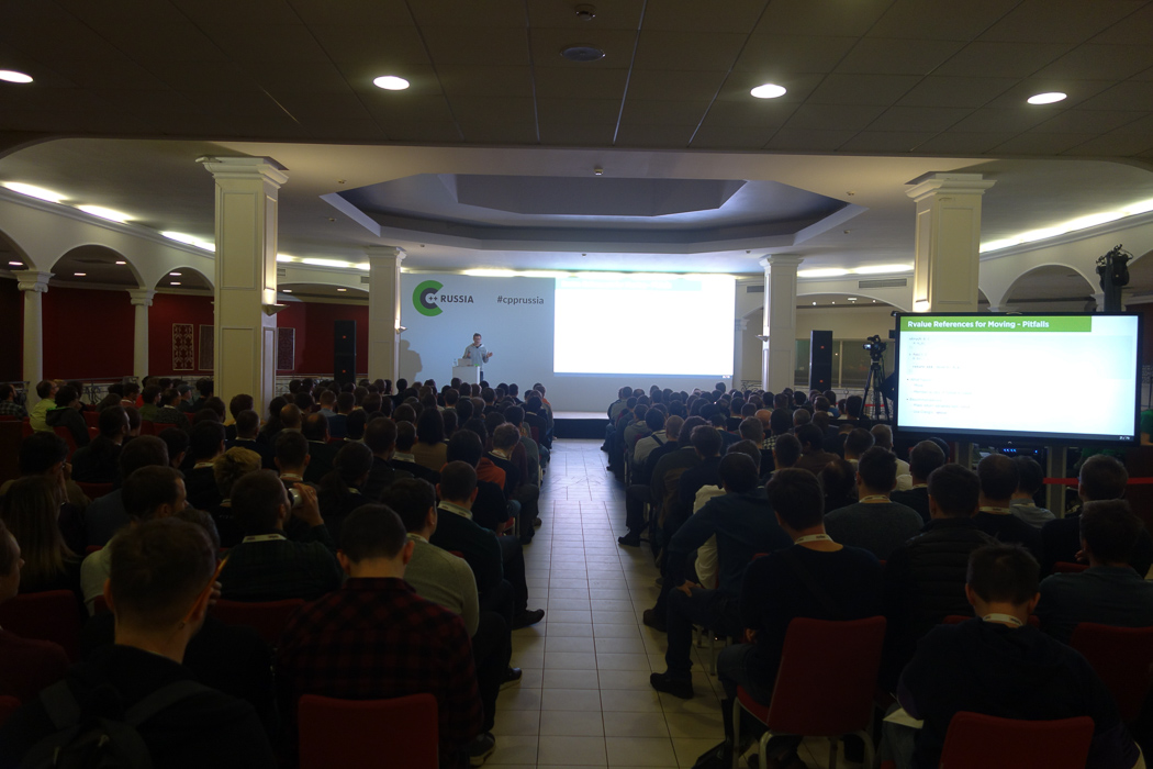 Over 250 participants listened to Arno`s talk in the conference room...
