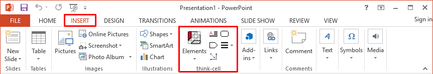 KB0004: The think-cell add-in is missing in PowerPoint