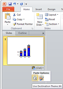 Kb0159 when copying a slide from one presentation into another office 2010 and later smart tag appearing in slide preview pane after pasting slide toneelgroepblik Image collections