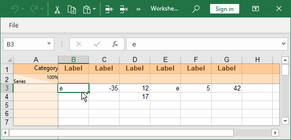 create a waterfall chart in excel