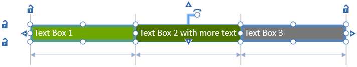 How To Create Text Boxes In Powerpoint And Size And Place Them