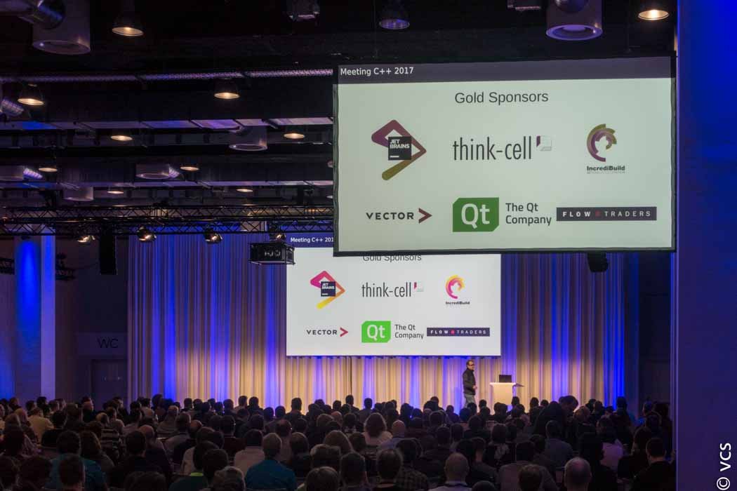 think-cell e outras empresas patrocinam o evento